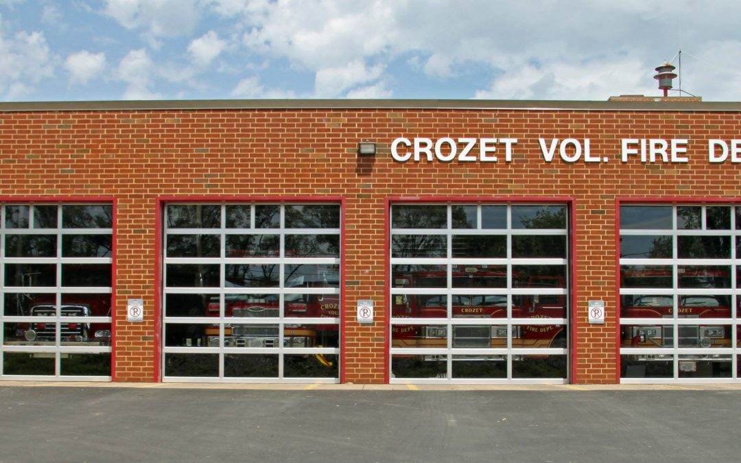 Crozet Volunteer Fire Department has a new look!