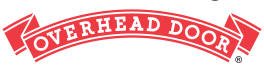 Overhead Door logo with only the red ribbon